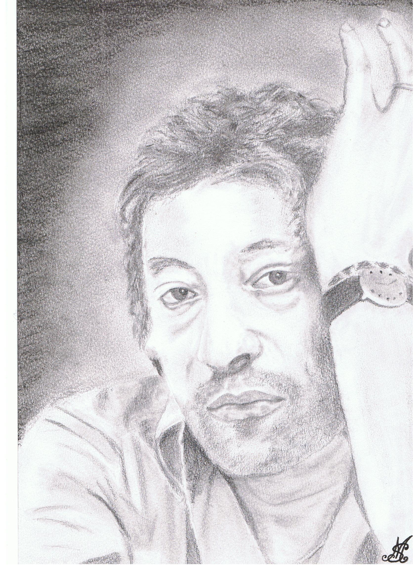 PORTRAIT de Serge Gainsbourg
